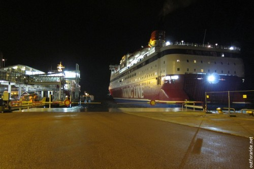 Our ride back was the same MS Gabriella that brought us here on Friday. Luckily, the departure from Mariehamn is just before midnight, so we got a good eight hours to sleep before going back to work!