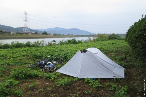 Stealth camping - no problem in Japan.
