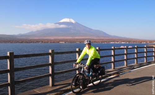 A sunny morning with Fuji-san, Japan 2013.