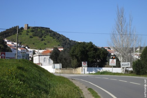 The castle is the iconic landmark of Aljezur.