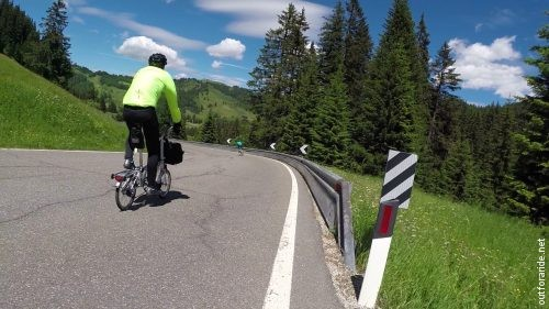 Sellaronda Bike Day 2018 – on the Brompton // Out for a ride
